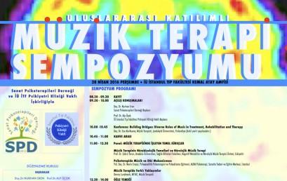 Uluslararası Katılımlı Müzik Terapi Sempozyumu