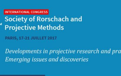 XXII. International Society of Rorschach and Projective Methods