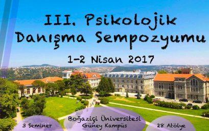 Boğaziçi Üniversitesi III. Psikolojik Danışma Sempozyumu