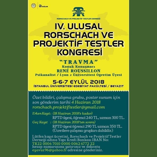 Rorschach ve projektif testler kongresi