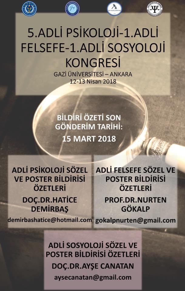 adli psikoloji sosyoloji kongresi