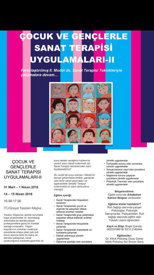 Çocuk ve Gençlerle Sanat Terapisi Uygulamaları - II
