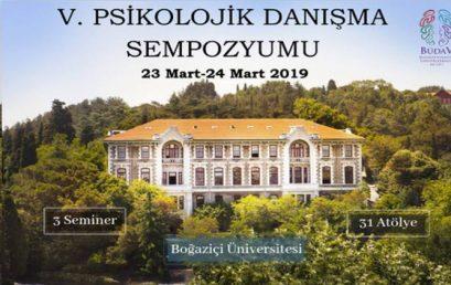 Boğaziçi Üniversitesi V. Psikolojik Danışma Sempozyumu